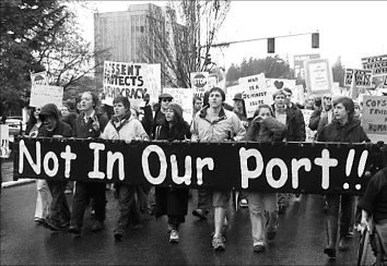 Port protest