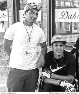 Andre and Bryson