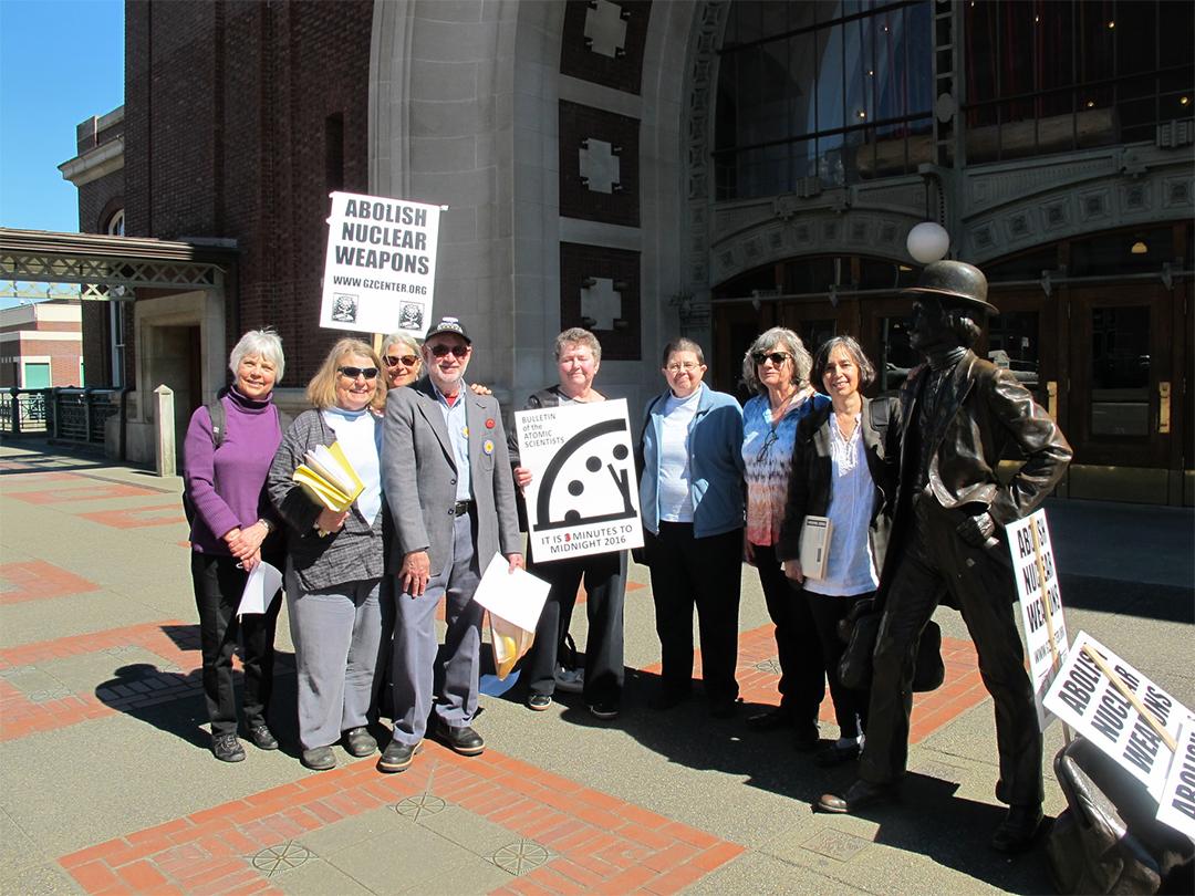 Bangor Eight defendants