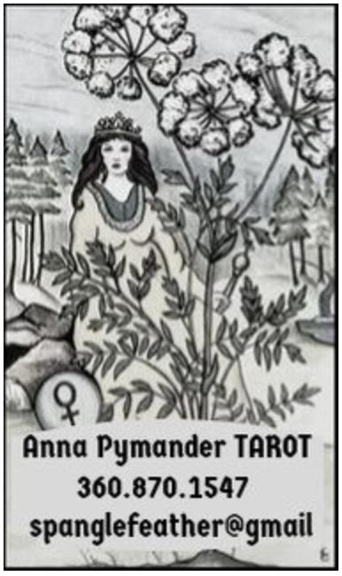 Anna Pymander Tarot, (360)870-1547