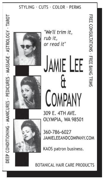 Jamie Lee & Company, 309 E. 4th Ave., Olympia