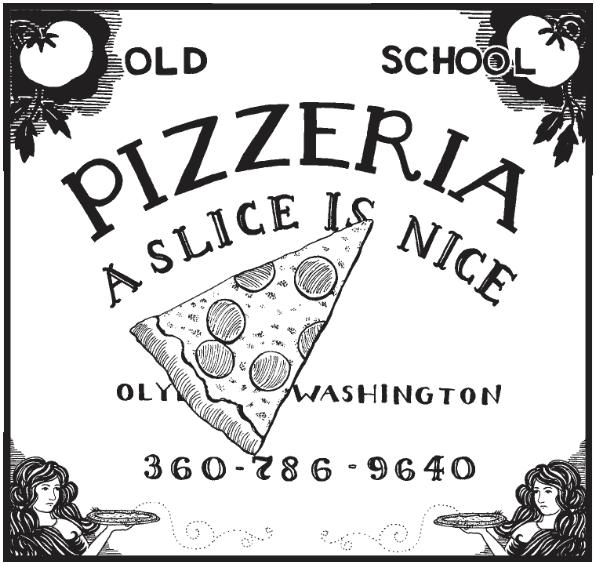 Old School Pizzeria, (360)786-9640